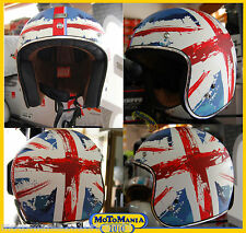NEW 2016 CASCO ORIGINE PRIMO UK INGLESE OPACO VINTAGE CUSTOM BUELL TRIUMPH TG XL