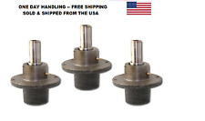 "THREE(3) SCAG MOWER DECK SPINDLE MANDRELS 46631 461663 SCAG FITS 48"" 52"" & 61"""