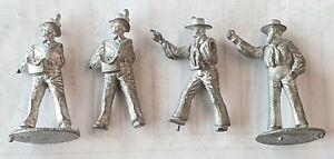Vintage Metal Cast British Napoleonic Naval Crew
