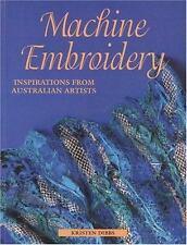 Machine Embroidery Inspirations from Australian Artists, Kristen Dibbs, Acceptab