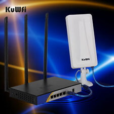 One Set OpenWrt 300Mbps Wireless Router 64M USB Wifi Adapter With 14dBi Antenna