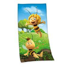 Herding toalla con Diseño de abeja maya Algodón multicolor 150 X 75 cm