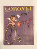 "CORONET MAGAZINE (5.5"" X 7.5"") - MARILYN MONROE - FEBRUARY 1961"