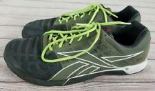 Reebok CrossFit CF74 Men's Athletic Cross Training Shoes Size 12 Green Black EUC