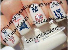 MLB New York NY Yankees Baseball Logos》10 Different Designs》Nail Art Decals