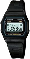 CASIO Digital F-84W-1 Black Light Men's Standard Wristwatch JAPAN