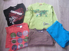 lot tee shirt manches longues 3/4 ans