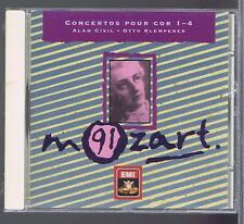 ALAN CIVIL OTTO KLEMPERER CD(SEALED) MOZART COR CONCERTOS 1- 4 (MOZART 91)