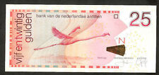 Netherlands Antilles 25 Gulden 2011 Pr- Vf  RAR note