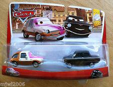 Disney PIXAR Cars TUBBS PACER PAINT SPRAY & TOLGA TRUNKOV 2013 LEMONS 6/7 7/7