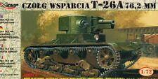 T 26 A WITH 76,2mm GUN - WW II SOVIET SUPPORT TANK 1/72 MIRAGE RARE!