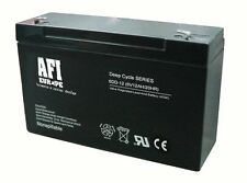 LEAD ACID BATTERY RECHARGEABLE DISCOVER 6 V 12 AH D6120 MEASURES 151X51X93mm