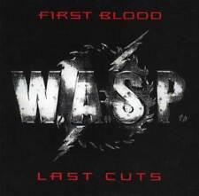 "WASP "" first blood last cuts ""     CD RARE !!!!!!"