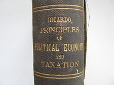 David Ricardo The Principles of Political Economy and Taxation 3rd Edition 1821