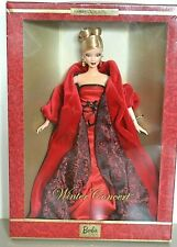 2002 Limited Edition WINTER CONCERT Barbie With Shipper Box