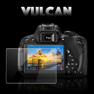 VULCAN Glass Screen Protector - Canon EOS 80D LCD Tough Anti Scratch Cover