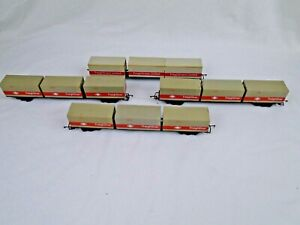 Hornby R633 Freightliner & Containers x9 and Freightliners Limited x3 Containers