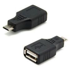 Adaptador conector OTG Micro USB macho a USB Hembra cable OTG