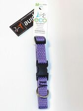 """Lupine ECO 3/4"""" Lilac Purple Adjustable Collar for 9-14 Inch Dogs NWT"""