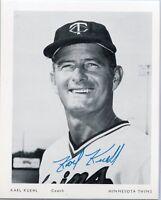 Baseball Postcard of Minnesota Twin Karl Kuehl