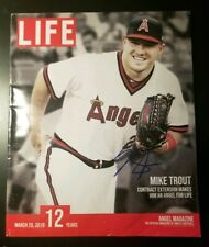 Mike Trout Signed Autographed Angel's LIFE Magazine Cover