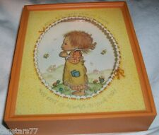Hallmark Cards 1977 Betsey Clark Rare Shadow Box 3D Picture Plaque Praying Child