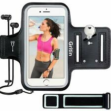 Gritin Running Armband for iPhone SE 2020/11/11 Pro/XS/XR/X/8/7/6 Plus,