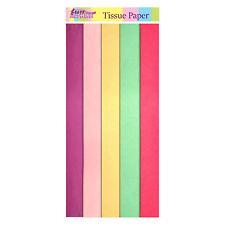 Easter Arts Craft Bonnet Decorations Egg Hunt - 15 Pack Coloured Tissue Paper