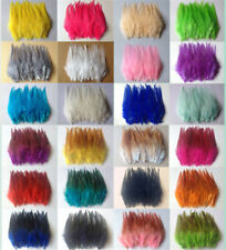 Beautiful 30pcs  rooster tail little feathers 2-4inches / 5-10cm 30 colors