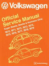 EMPI VW BUG TYPE 1 1970- 1979 BENTLEY TECHNICAL MANUAL BOOK   11-0800