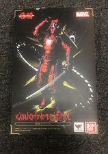 Bandai MANGA REALIZATION Marvel Deadpool Action Figure - FreeShip