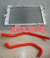 Aluminum Radiator For Yamaha Raptor 700 YFM700 YFM700R 2006-2013 09 & hose RED