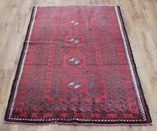 Traditional Vintage Persian Wool 175 x 100 cm Handmade Rugs Oriental Rug Carpet