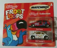 Matchbox Kellogg's Froot Loops Collection 2 Pack Ford Focus & VW Concept