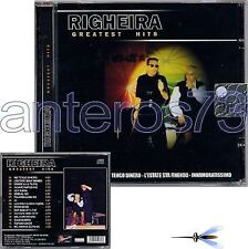 """RIGHEIRA """"GREATEST HITS"""" CD 16 TRACKS - ITALO DISCO"""