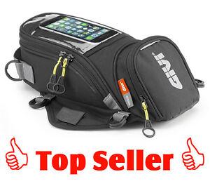 GIVI EA106B Easy-Bag Magnet Tankrucksack, Tanktasche in schwarz, 6 Liter, NEU !!