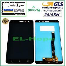 DISPLAY LCD ASUS ZENFONE 3 ZE552KL Z012S Z012DE TOUCH SCREEN SCHERMO VETRO NERO