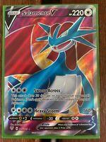 Pokemon Card  SALAMENCE V  Ultra Rare 185/189 DARKNESS ABLAZE *MINT