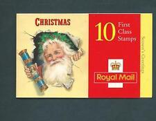 Lx13 Christmas 1997, Cyl B1A - B1E pB15 no dot 10 X 1st barcode Booklet.