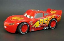 Disney Pixar Lightning McQueen  Talking Moving Eyes lights and drives Car Tested