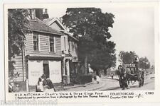 Mitcham, Chart's Store & Three Kings Pond, Surrey Reproduction Postcard, B496