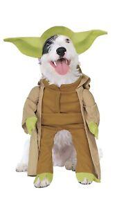 """Star Wars Yoda Dog Costume size Large (18-20"""") 2005"""