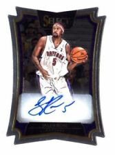 Panini Autographed Select Basketball Trading Cards