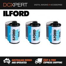 ILFORD DELTA 100 – 3 PACK – 24 EXPOSURES – 35mm BLACK & WHITE NEGATIVE FILM