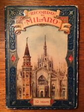 Carnet de cartes Postales Milan Cartoline Milano