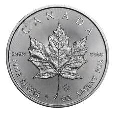1 oz Silber Maple Leaf 2019 - 5 Dollar Kanada Stempelglanz Silbermünze 999,9
