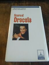 Scars of Dracula VHS, thorn EMI, horror, Christopher lee
