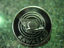 CLASSIC VINTAGE KAWASAKI METAL & ENAMEL LAPEL PIN BADGE MADE N ENGLAND GIFT IDEA