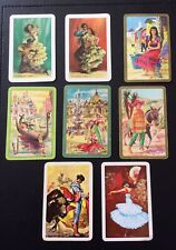 Swap Playing Cards - Stunning Collectable Flamingo Spanish Theme Vintage Retro