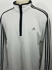 Adidas three-stripe gray track jacket size L 1392